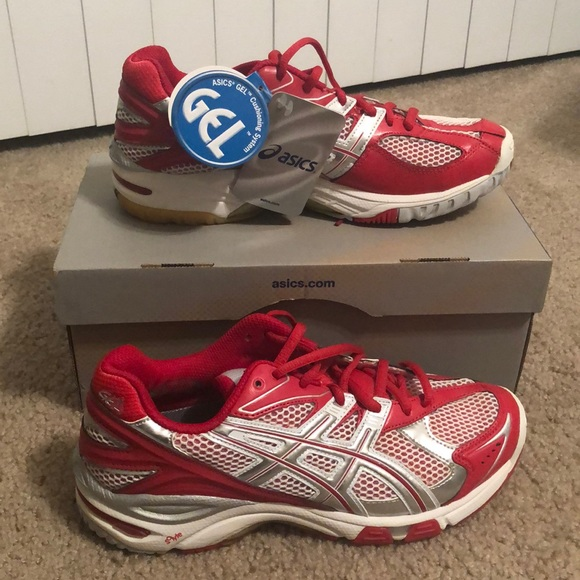 b0bd3606aaa8b ASICS Women's Volleyball/Volley Cross Shoes NWT